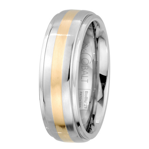 Scott Kay Unity Yellow Gold Wedding Band Thick Single Gold Stripe