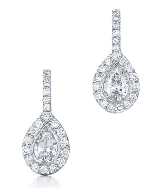 The Silhouette Drop Earrings, 15878-40