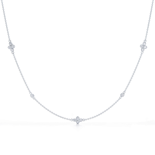 Kwiat Diamond String Necklace 18KT white gold