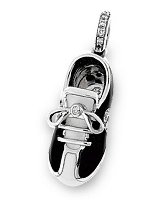 Aaron Basha 18K White Gold Sports Shoe