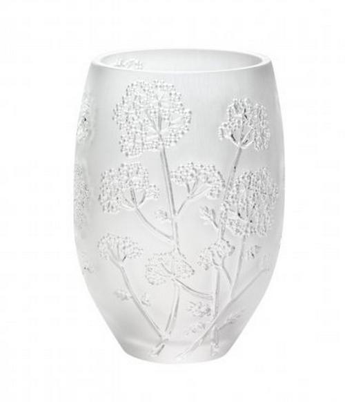 Lalique Ombelles Vase Medium