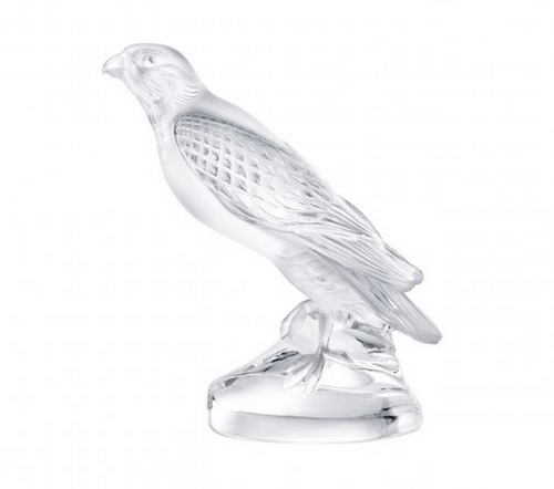 Lalique Falcon Sculpture