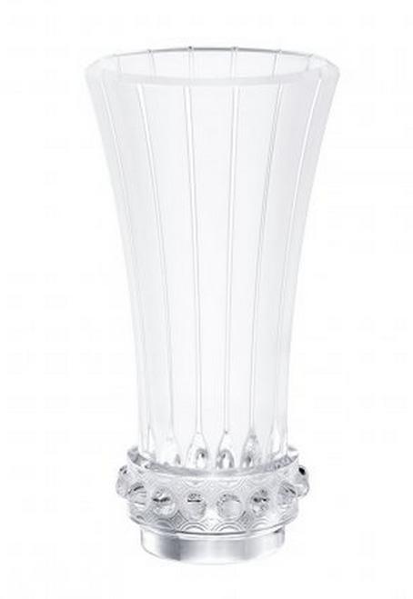 Lalique Lagune Tall Vase