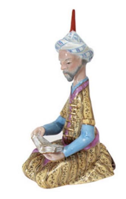Herend Persian Miniature Reading