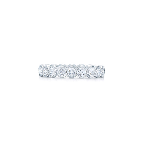 Kwiat Diamond band ring in platinum