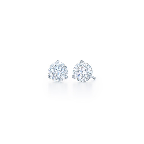 Kwiat Diamond Stud Earrings Round brilliant Diamond Stud Earrings