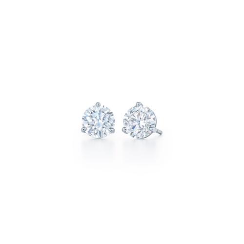 Kwiat Diamond Stud Earrings Round brilliant Diamond Stud Earrings