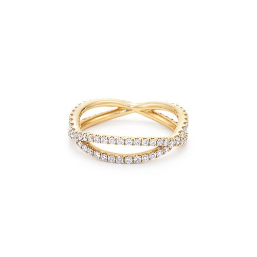 Kwiat Fidelity Diamond Ring Diamond Ring in 18k yellow gold