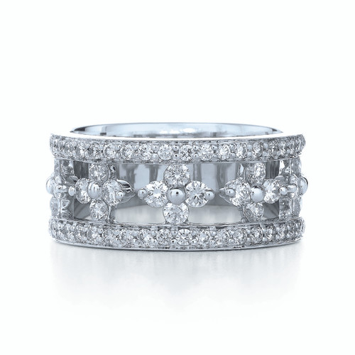 Kwiat Jasmine Diamond Ring Diamond ring in 18k white gold