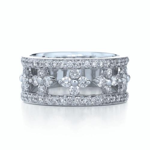 Kwiat Jasmine Diamond Ring Diamond ring in 18k white gold