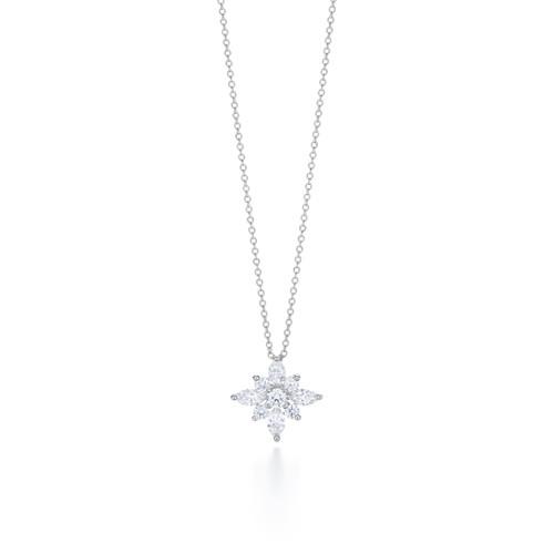 Kwiat Star Pendant Diamond pendant in platinum 0.93 carats