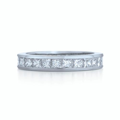 Kwiat Wedding Ring Diamond band ring in platinum
