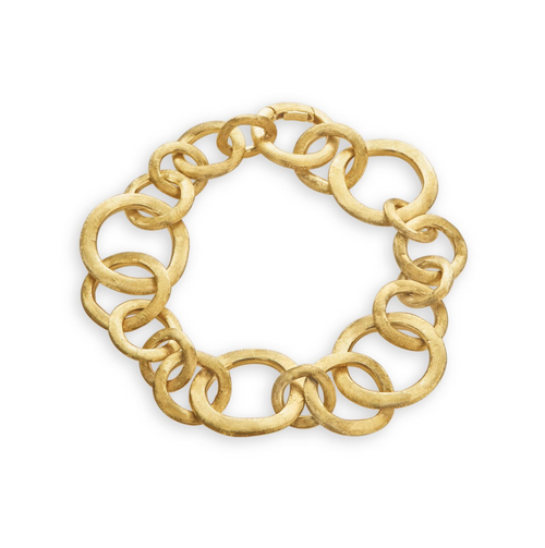 Marco Bicego Jaipur Link Collection - Yellow Gold Bracelet Yellow gold links combine together in this incredible bracelet!