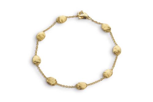 Marco Bicego Siviglia 18K yellow gold medium bead bracelet