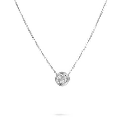 Marco Bicego Delicati Pendant necklace with diamonds.