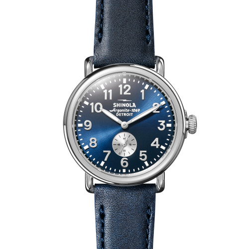 Runwell Sub Second 41mm, Ocean Leather Strap