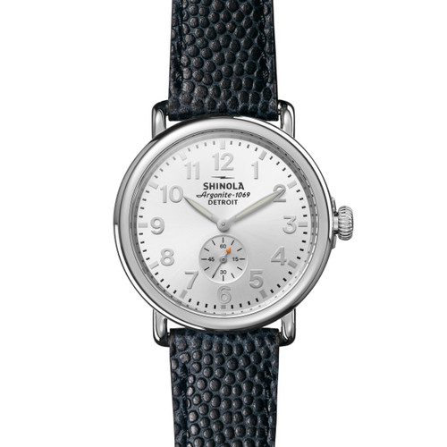 Runwell w/Sub Second 41mm, Navy Leather Strap