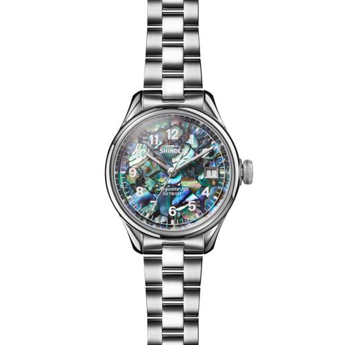 Vinton 3HD 32mm, Abalone Silver Bracelet