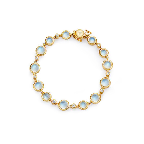 Temple St. Clair 18K Full Moon Bracelet