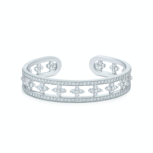 Kwiat Jasmine Cuff with Diamonds