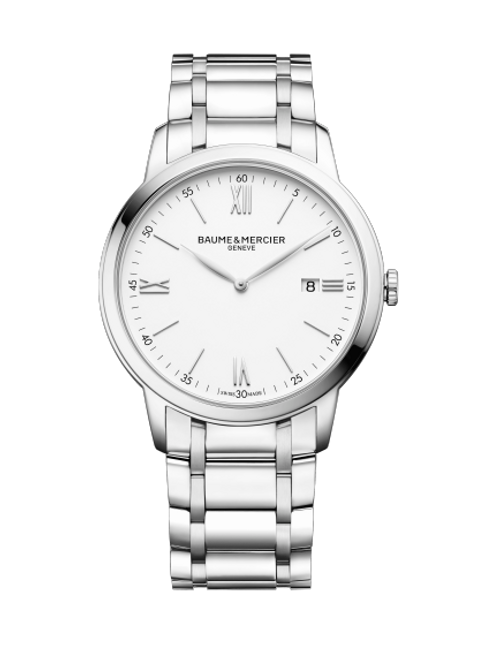 Baume and Mercier Classima 10526; Quartz; White dial