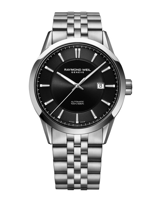 Raymond Weil Freelancer Steel Black Dial, 42mm Automatic