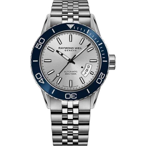 Raymond Weil Freelancer 42mm Automatic, Silver Dial, Men's Watch