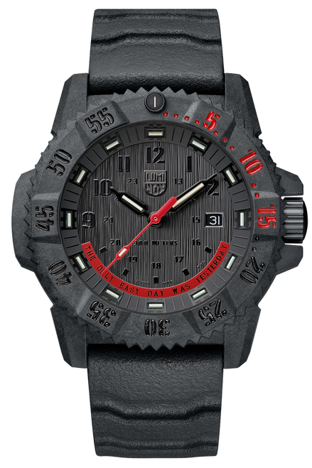 Luminox 3801.EY - LIMITED EDITION Master Carbon Seal Series- THE ONLY EASY DAY WAS YESTERDAY