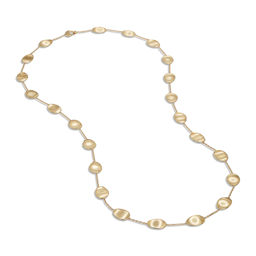 Marco Bicego Lunaria Collection 18K Yellow Gold Long Necklace