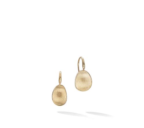 Marco Bicego® Lunaria Collection 18K Yellow Gold Petite Drop Earrings