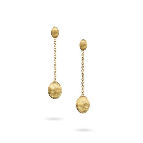 Marco Bicego® Siviglia Collection 18K Yellow Gold Single Strand Earrings