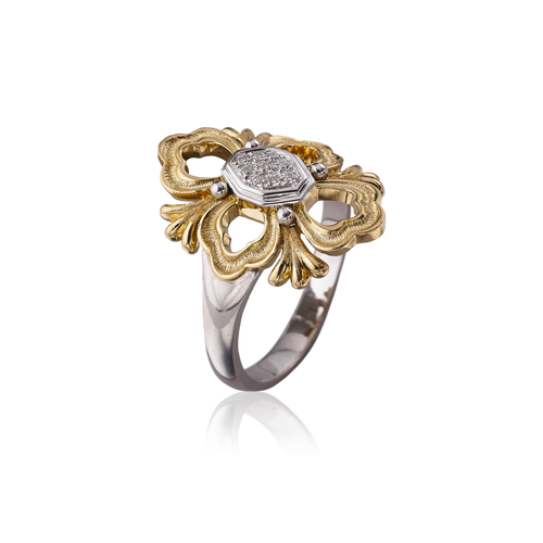 Buccellati Opera Ring in Yellow Gold