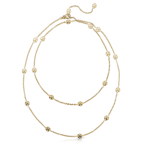 Buccellati Opera Necklace Long Yellow Gold