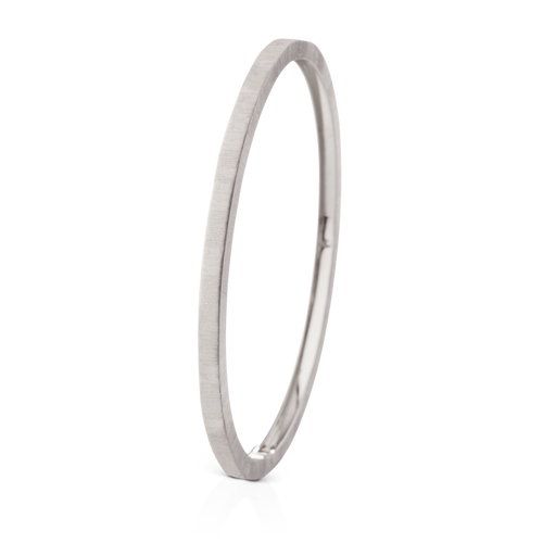 Buccellati Macri Classica Bangle Bracelet White Gold