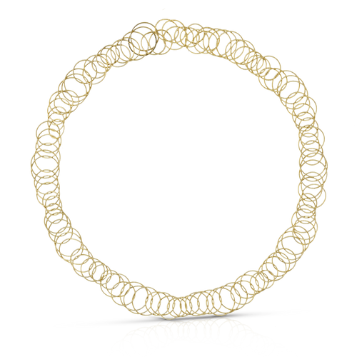 Hawaii Necklace in Yellow Gold, 20 Inches long