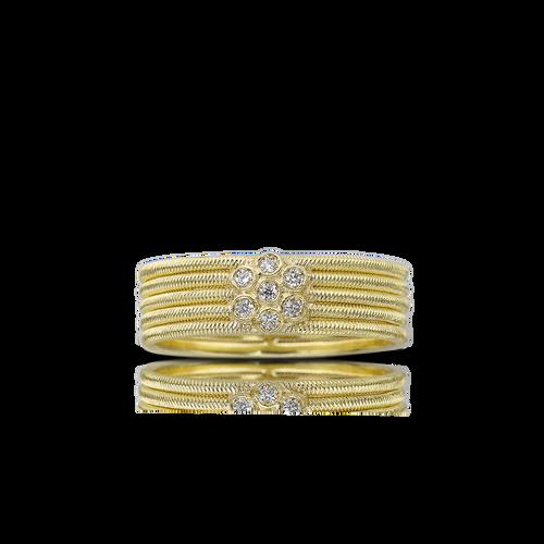 Hawaii Ring with Diamonds
