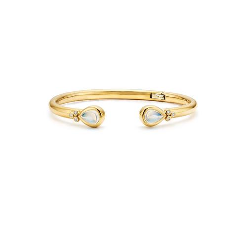 18K Bellina Hinged Bracelet