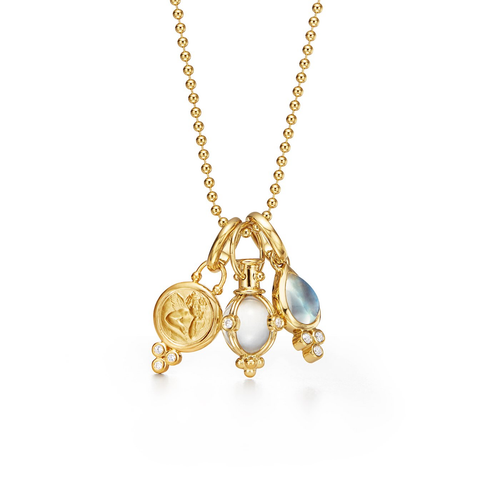 18K Signature Charm Necklace
