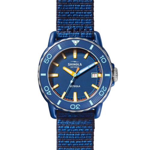 Shinola Sea Creatures 4mm Watch in Sea Blue/Multi-Blue