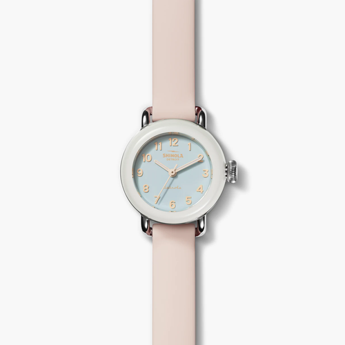 Shinola The Pee-Wee in Pink 25mm