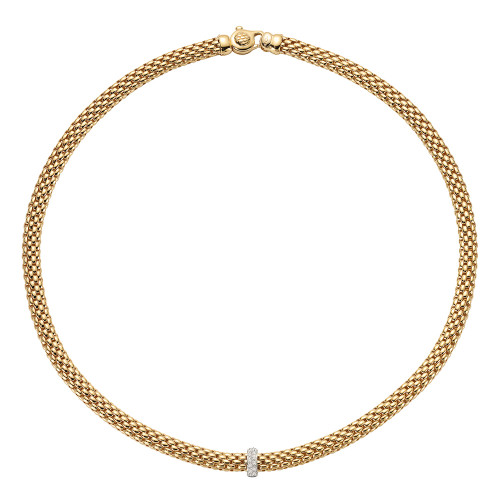 Vendôme Collection Necklace with Diamonds 17inches