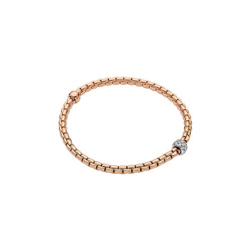 Eka Tiny Collection Flex'it Bracelet with diamond pave