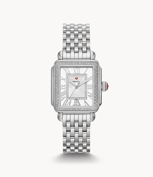 Deco Madison Mid Stainless Diamond Watch