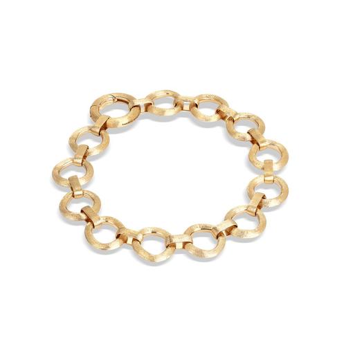 Jaipur Collection 18K Yellow Gold Flat Link Bracelet