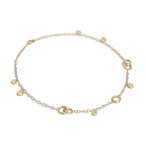 Jaipur Collection 18K Yellow Gold Charm Short Necklace