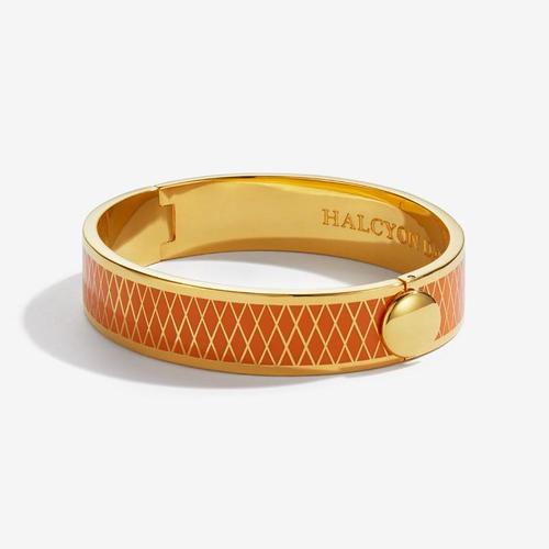 Parterre Orange & Gold Bangle