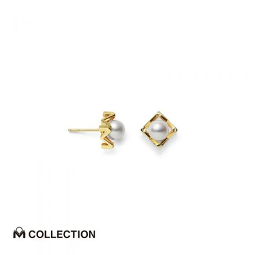 M Collection Akoya Cultured Pearl Earring