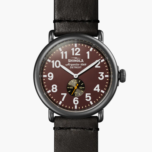The Runwell 47mm- Rust Dial