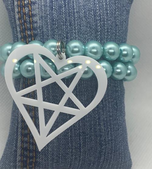 Big Heart Bracelet Set