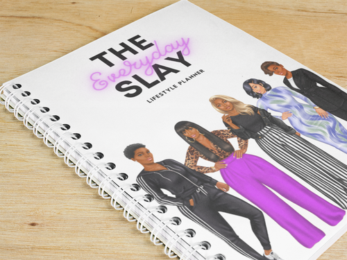 Digital version of the 2021 Everyday Slay Lifestyle Planner